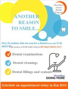 Dental Exam Flyer