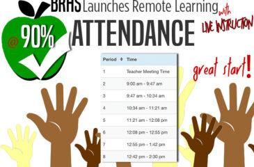 90% attendance graphic