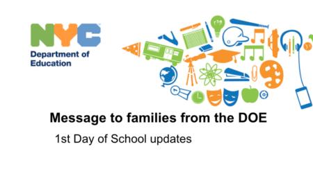 What's Happening in NYC Public Schools
